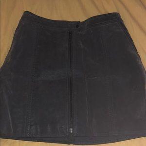 Free People Full Zip Skirt